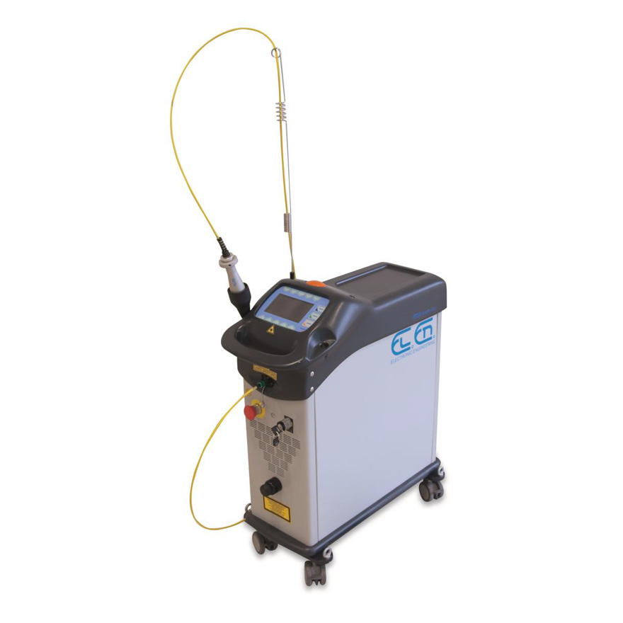 Eos 1000 LQS laser cleaning