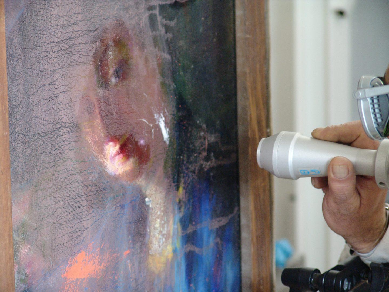 Laser cleaning: Paintings - Pulitura laser: tele e tavole